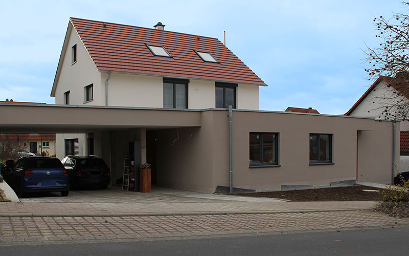 Kürnach - Einfamilienwohnhaus - Kress-Bau